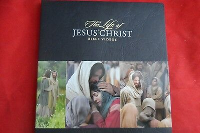 The Life Of Jesus Christ Bible Events Two Disc Dvd New English Free Post