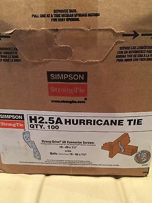 Simpson Strong Tie H2.5A Hurricane Tie Connector