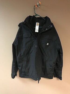Carhartt C76 Waterproof Breathable 3 In 1 Parka, Size Large