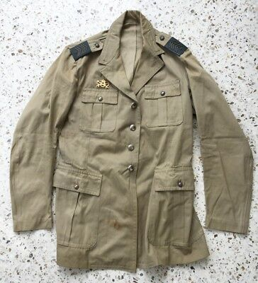 Belgian Soldiers Tunic - Belgian Congo War 1950s - Hard to Find