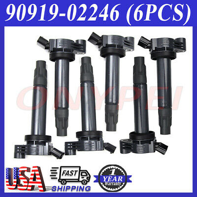 NGK Spark Plugs for Lexus RX330 Toyota Camry Sienna Solara Ignition Coils