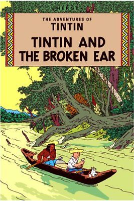The Broken Ear (The Adventures of Tintin) by Herg� Paperback Book The Cheap Fast