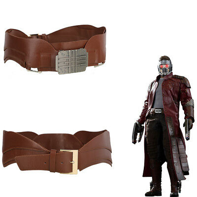 Star Lord Cosplay Belt Waistband Costume Props Halloween Party Men Adjustable