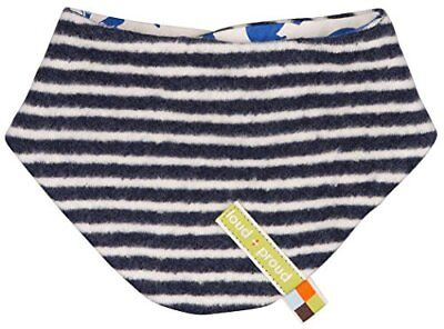 loud + proud Halstuch Fleece, Echarpe Mixte Bébé, Blau (Midnight/Natural Mi/N...