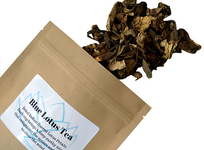 Blue Lotus Tea, Calming Relaxation, Focus & Drive -15G Nelumbo Nucifera Petals