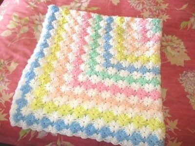 Hand Crafted Baby Blanket - New