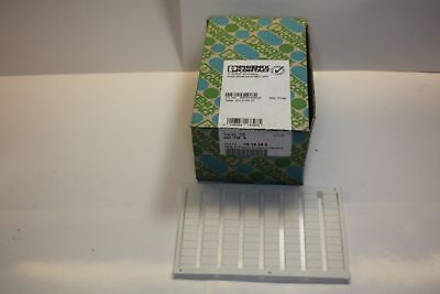 PHOENIX CONTACT UC-TM 6 TERMINAL BLOCK LABELS box of 10 SHEETS
