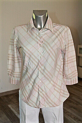 9cf653e5df6 chemise tartan rose stretch femme BURBERRY LONDON taille S EXCELLENT ÉTAT