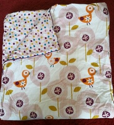 Lovely reversible Mamas and papas quilt. Great condition.