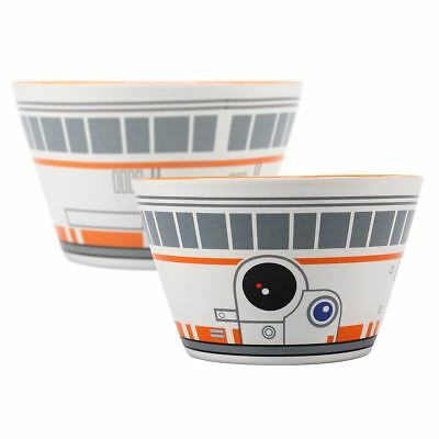 New Star Wars BB-8 Bowl Breakfast Cereal Kids Ceramic Kitchen Droid Official
