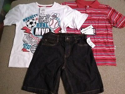 Kids 3-Piece Spring/summer Set Boys Size 7 Originally From Ross New With Tags