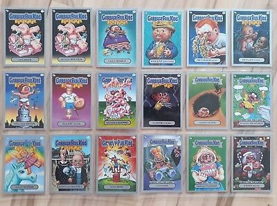 Garbage Pail Kids Flashback Series 3. Silver Border Lot. 18 cards. Mint. 2€ card