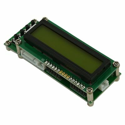 5X(0.1MHz~1200MHz 1.2GMZ Frequency Counter Tester Measurement LCD For Ham A8V7)