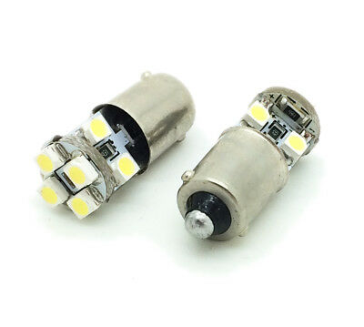 Pair LED Rear Number Plate Bulbs For Reliant Fox Kitten Railto Robin Scimitar