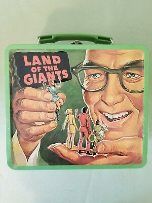 Land Of The Giants Metal Lunchbox Full Size / Repro LOTG Irwin Allen lunch Box