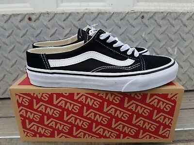 d69d71e7c5 New In The Box Vans Old Skool Mule Black true White Vn0A3Mus6Bt For Women
