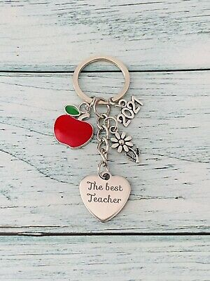 GIFT FOR TEACHER -Teacher, Teaching assistant, Nursery teacher Keyring #01