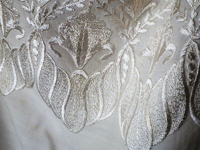 Antique Silk Embroidered Shawl