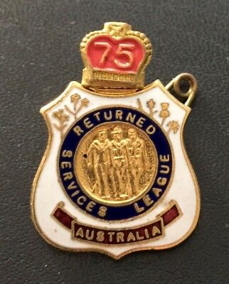 Australian - Returned Services League Badge - Numbered.