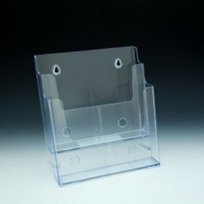 Two (2) Tier Wall Mount/Counter Top Brochure Holders (Pack of 3)