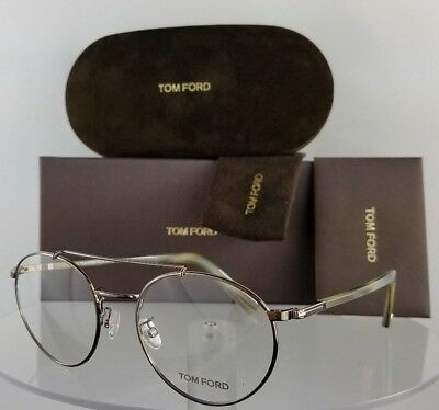 Brand New Authentic Tom Ford Eyeglasses FT TF 5337 036 51mm Brown Frame