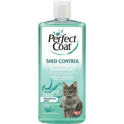 Perfect Coat Shed/hairbll Control Shampoo For Cats