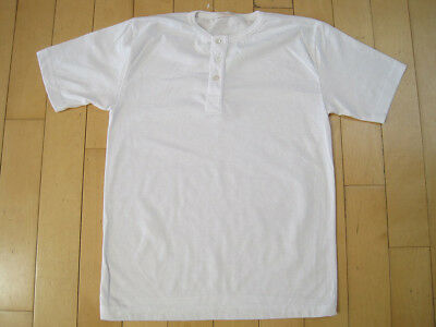 Blank 1970's pocket t-shirt, never washed or worn, small