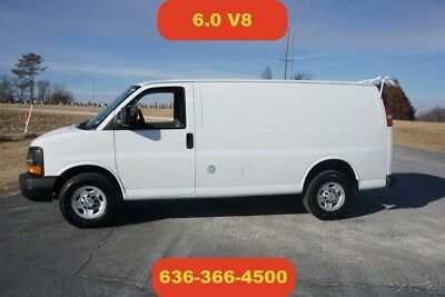 Chevrolet Express Work Van 2011 Work Van Used 6L V8 16V Automatic cargo work delivery expedite auto