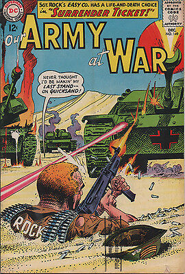 Our Army at War 149 Dec 1964 DC Silver Age Joe Kubert 5.5 FN-
