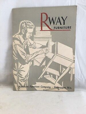 Very Nice Original c1940's R-Way Furniture Co.  Catalog Sheboygan, Wisconsin