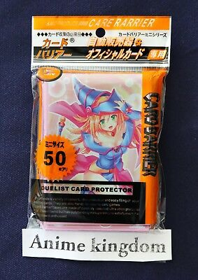 Anime Sleeves 50 x Holographic Sleeve card Protector Sexy Dark Magician Girl #7