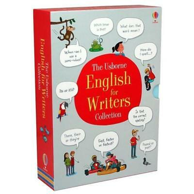 NEW The Usborne English Dictionary Boxset English for Writers Collection