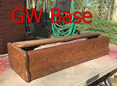 "Antique GLOBE WERNICKE Oak BARRISTER BOOKCASE BASE Bottom ""C"" size"