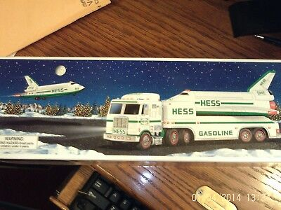 Hess Toy Truck And Space Shuttle W/ Satellite 1999