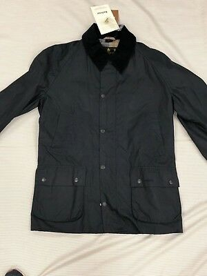 Barbour Ashby Jacket, NWT, Navy, Size L, FREE SHIPPING
