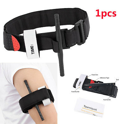 Emergency Tourniquet Buckle Quick Release Medical Outdoor Sport First Aid Kit