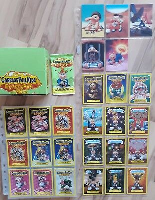 Garbage Pail Kids Flashback Series 3. Master Set. Base.  Bonus. 3D. Adam Mania.
