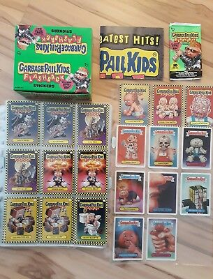 Garbage Pail Kids Flashback Series 1 master set cards