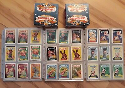 Garbage Pail Kids 2013 Mini Cards Brand New Series 1,2,3 197 Total Cards plus...