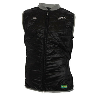 Official Norwich City Fc 2016 - 2017 Travel Gilet - Childrens Sizes