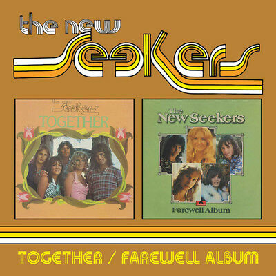The New Seekers : Together/Farewell Album CD (2018) ***NEW***