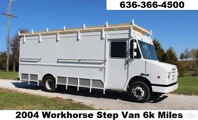 2004 Chevy Workhorse Step Van Cargo Food Truck 6k miles v8 auto Used