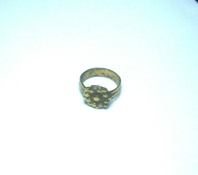 Small Bronze Medieval wearable Ring