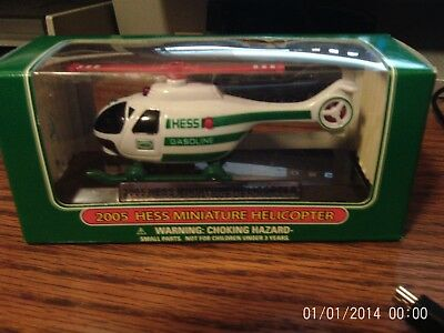 Hess Mini Truck Series 2005 Helicopter Collectible -- New in Box