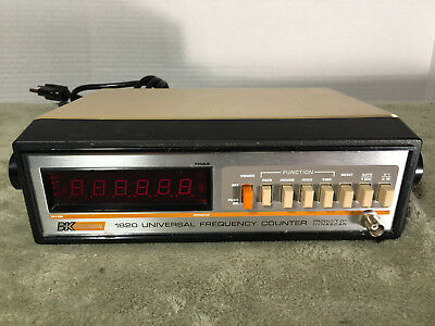 BK Precision Dynascan 1820 6-Digit Universal Frequency Counter