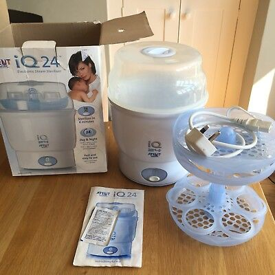 Avent IQ 24 Electronic Steam Steriliser
