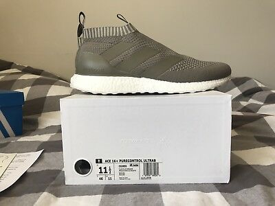 buy popular 3cc73 8aac5 Adidas Ace 16+ Purecontrol Ultra Boost Clay  Sesame CG3655 Size 11.5 Cream