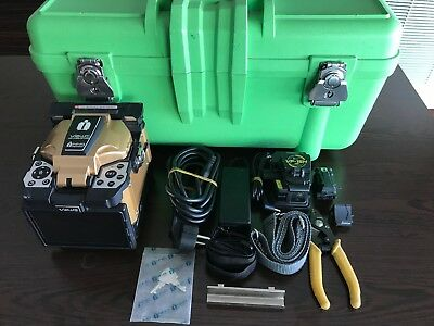 INNO VIEW5 Fusion Splicer with VF-15H TOTAL ARC COUNT 624