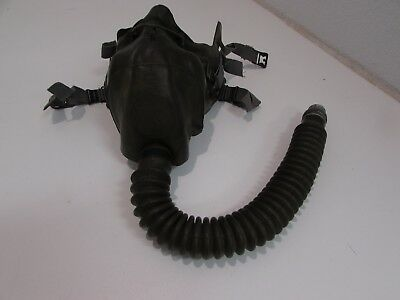 WWII U.S. Army AC 02 mask type A-9. This 02 mask that goes with the type B-6