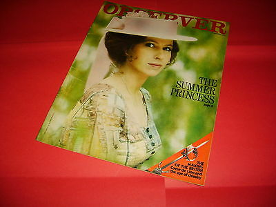 Princess Anne Thomas Becket 1971 UK Observer Magazine